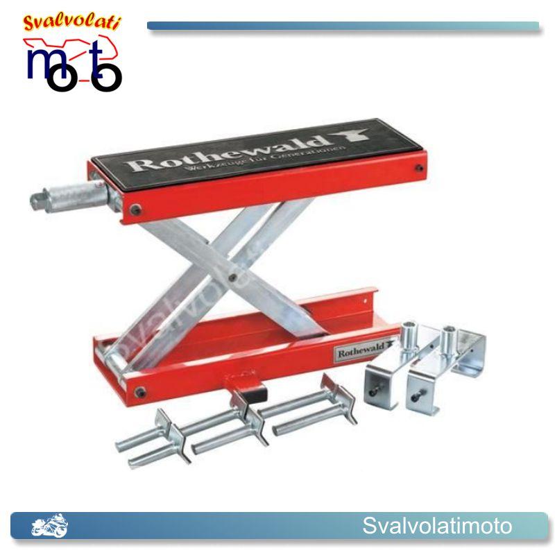 Ponte sollevatore a forbice della rothewald per moto for Ponte sollevatore a forbice