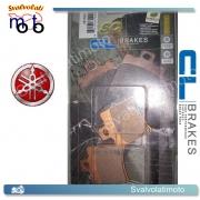 2 PASTIGLIE ANTERIORI CARBONE LORRAINE 3013SC PER YAMAHA 50 JOG-R 2002 > 2009