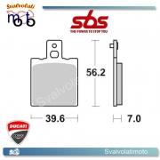 2 PASTIGLIE POSTERIORI SBS 519 HF DUCATI 851 STRADA - 89