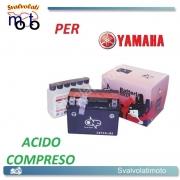 BATTERIA CBTX4L-BS ACIDO PREDOSATO A CORREDO ONE YAMAHA TZR50 50 03-08
