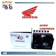 BATTERIA CBTX9-BS ACIDO PREDOSATO A CORREDO ONE PER HONDA VFR750R (RC45) 750 94