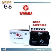 BATTERIA CBTX9-BS ACIDO PREDOSATO A CORREDO ONE PER YAMAHA XT600E, EH, EN 600 90-02