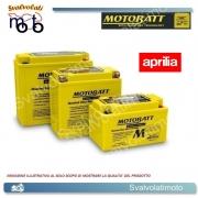 BATTERIA MOTOBATT TECNOLOGIA AGM COD. BQ023 14 ah PER APRILIA 1000 RSV 4 2009 2010