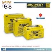 BATTERIA MOTOBATT TECNOLOGIA AGM COD. BQ023 14 ah PER SUZUKI 750 GSX R 1992 > 1995