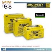 BATTERIA MOTOBATT AGM BQ026 21ah PER KAWASAKI 1200 JT A , B STXR , STX12F 2002 > 2004