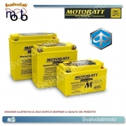 BATTERIA MOTOBATT TECNOLOGIA AGM BQ029 4,7ah PER PIAGGIO 50 ZIP SP/E2 HIPER 2001 > 2008