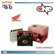 BATTERIA ONE CBTX12-BS ACIDO PREDOSATO A CORREDO  PER HONDA VTR1000 Fsuper Hawk 1000 97-00