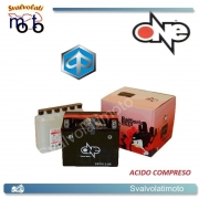 BATTERIA ONE CBTX12-BS ACIDO PREDOSATO A CORREDO  PER PIAGGIO Hexagon GT 250 00-