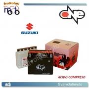 BATTERIA ONE CBTX12-BS ACIDO PREDOSATO A CORREDO PER SUZUKI VL800 Intruder Volusia 800 01-10