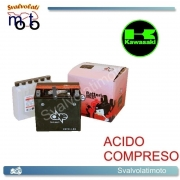 BATTERIA ONE CBTX14-BS ACIDO PREDOSATO A CORREDO PER KAWASAKI ZX1100 C-G 1100 99