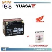 BATTERIA YUASA TTZ12S PER HONDA 300 TRX EX SPORTRAX 1993 > 2008