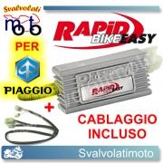 CENTRALINA RAPID BIKE EASY PER PIAGGIO X8 250 2006 CON CABLAGGIO