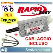 CENTRALINA RAPID BIKE EASY PER TRIUMPH TIGER 1050 2007 > 2012 CON CABLAGGIO