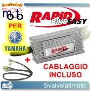 CENTRALINA RAPID BIKE EASY PER YAMAHA X-MAX 250 2007 > 2012 CON CABLAGGIO