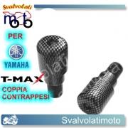 CONTRAPPESI MANUBRIO COLORE CARBONIO T-MAX 500