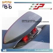 COVER CARBONIO RIALZI ALLUMINIO ANODIZZATO NERO PERFORMANCE1 CA003 T-MAX 500 - TMAX 530