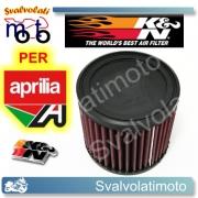 FILTRO ARIA K&N APRILIA SL 1000 FALCO IE 1998 > 2004