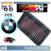 FILTRO ARIA K&N BMW GS 800 F 2008 > 2011