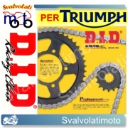 KIT TRASMISSIONE DID CATENA CORONA PIGNONE TRIUMPH SPEED FOUR 600 2003 > 2005