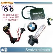 KIT XENON CON LAMPADA H7-55W CAN BUS PER MOTO BMW R 1200 GS