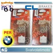 PASTICCHE FRENO CARBONE LORRAINE ANTERIORI BMW G 450 SMR 2009