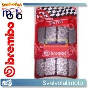 PASTIGLIE BREMBO ANTERIORI HONDA CBR 929 RR FIREBLADE 01