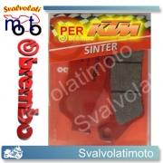 PASTIGLIE BREMBO ANTERIORI SINT. KTM 250 SX 92 AL 2003