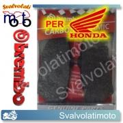 PASTIGLIE BREMBO ANTERIORI CARBON CERAMIC HONDA 650 NX DOMINETOR DAL 1997