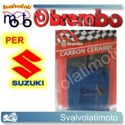 PASTIGLIE FRENO POSTERIORI BREMBO CARBON CERAMIC SUZUKI GS 550 LD DAL 1983