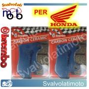 PASTIGLIE FRENO ANTERIORI BREMBO CARBON CERAMIC HONDA CBX 650 ED-SC-SCD DAL 1983