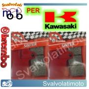 PASTIGLIE FRENO ANTERIORI BREMBO SINTERIZZATE KAWASAKI ZX-7 750 RR DAL 1996 AL 2002
