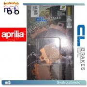 2 PASTIGLIE ANTERIORI CARBONE LORRAINE 3013SC PER APRILIA 50 MOJITO / CUSTOM 2002 IN POI