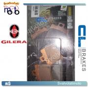 2 PASTIGLIE ANTERIORI CARBONE LORRAINE 3013SC PER GILERA 50 RUNNER 1998 > 2005