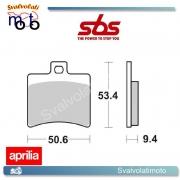 2 PASTIGLIE FRENO POSTERIORE SBS 152 MS APRILIA SCARABEO CLASS 500 DAL 2010 IN POI