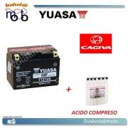 BATTERIA YUASA TTZ12S PER CAGIVA 650 V RAPTOR 2000 > 2002