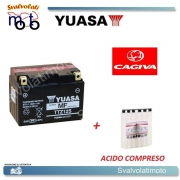 BATTERIA YUASA TTZ12S PER CAGIVA 1000 X RAPTOR 2000 IN POI