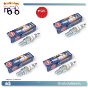 CANDELE 4 NGK CR8EHIX-9 IRIDIUM IX PER HONDA ST 1100 A Pan European 1992 - 2001