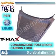 CONGIUNZIONE CODONE CARBON LOOK YAMAHA T-MAX 2001 2007