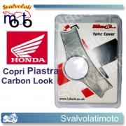 COPRI PIASTRA CARBON LOOK CBR 600 FS