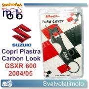 ADESIVO  PIASTRA CARBON LOOK GSX-R 600 K4-K5 04-05