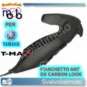 FIANCHETTO ANTERIORE DESTRO CARBON LOOK YAMAHA T-MAX 2008 2011