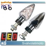 FRECCE LED ARROW CROMO 2PZ
