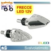 FRECCE LED ARROW CROMO 4PZ