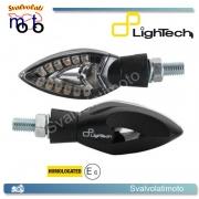 INDICATORI DI DIREZIONE / FRECCE OMOLOGATE LIGHTECH A LED DI COLORE NERO FRE905NER