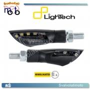 INDICATORI DI DIREZIONE / FRECCE LIGHTECH A LED CON LUCE DI POSIZIONE BIANCA INCLUSA COD.FRE908NER