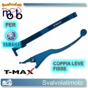 LEVE FRENO T-MAX REGOLABILI COLORE BLU T-MAX 500 DAL 2001 AL 2007