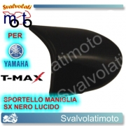 MANIGLIA SPORTELLO SINISTRO NERA YAMAHA T-MAX 2008 2011