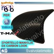 MANIGLIA SPORTELLO DESTRO CARBON LOOK YAMAHA T-MAX 2008 2011