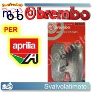 PASTIGLIE FRENO ANTERIORI BREMBO CARBON CERAMIC APRILIA SPORTCITY 300 CUBE DAL 2008