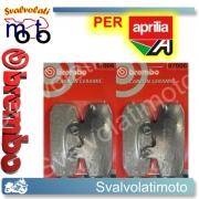 PASTIGLIE FRENO ANTERIORI BREMBO CARBON CERAMIC APRILIA SPORTCITY 250 DAL 2006